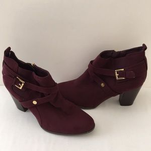 Tommy Hilfiger Faux Suede Ankle Boots